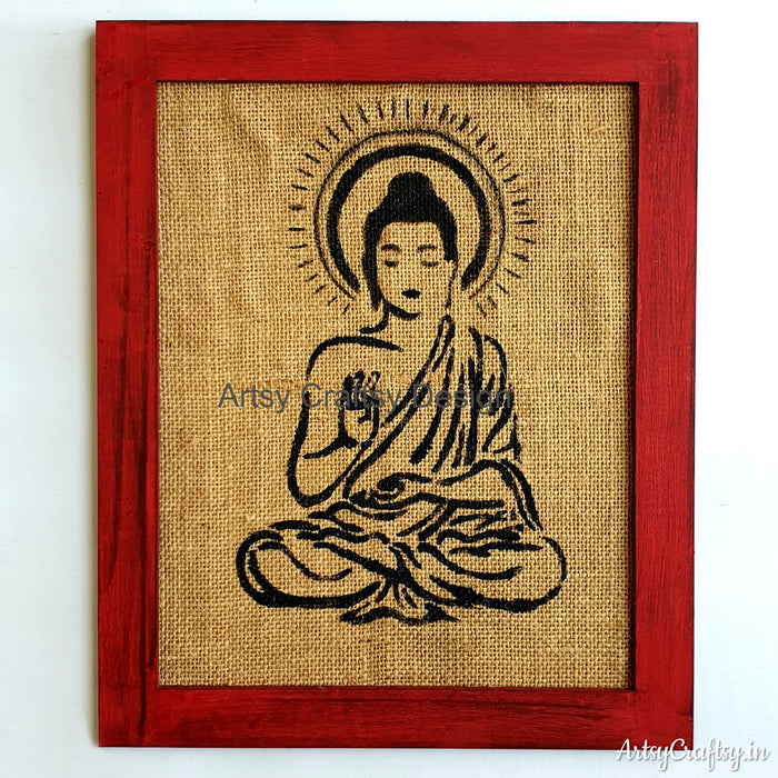 Peaceful Lord Buddha Wall Decor