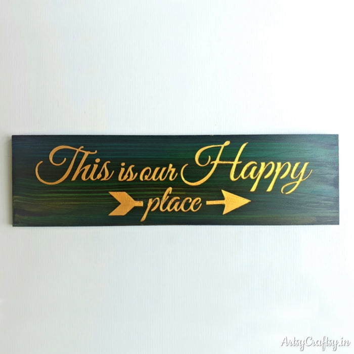 This is us Our Happy Place Wall Decor