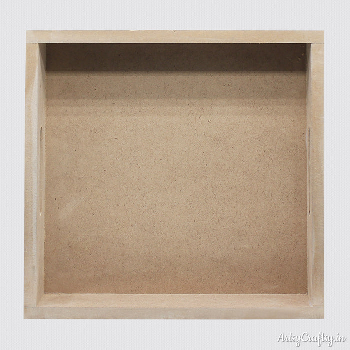 MDF Square Tray (12mm)