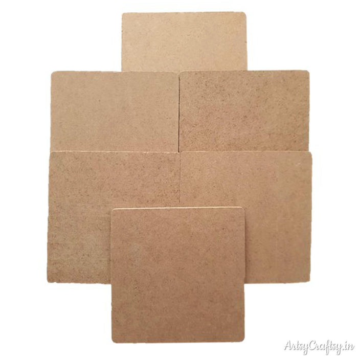 Square Coaster (Set of 6)