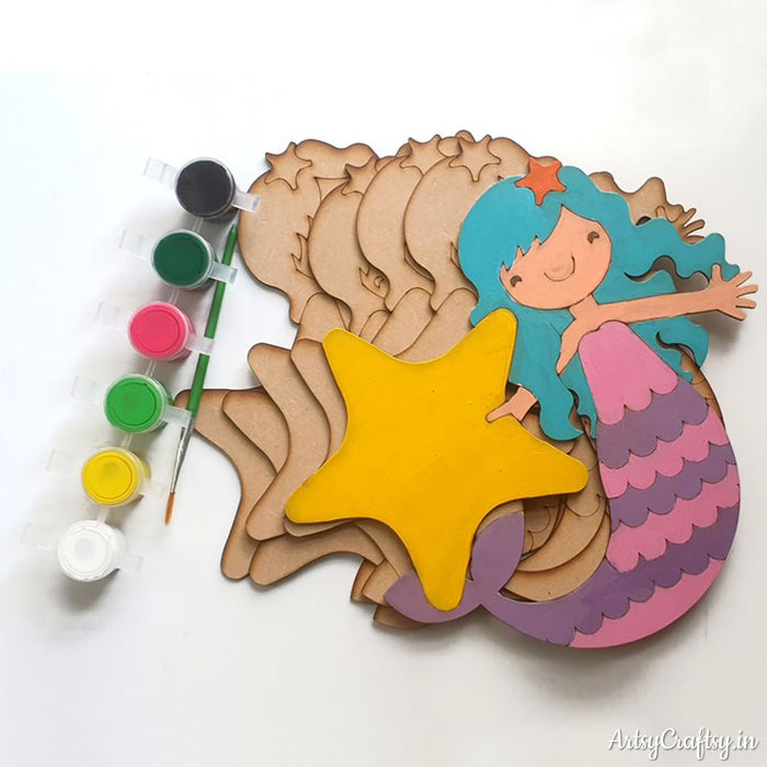 MDF Mermaid DIY Kit