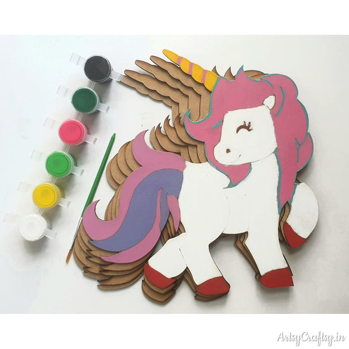 MDF Unicorn DIY Kit