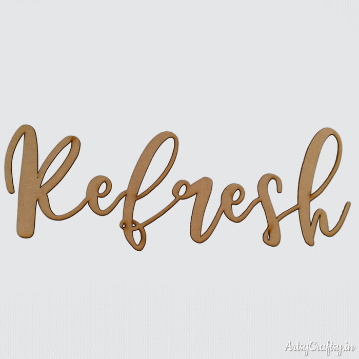 Refresh sentiment cutout