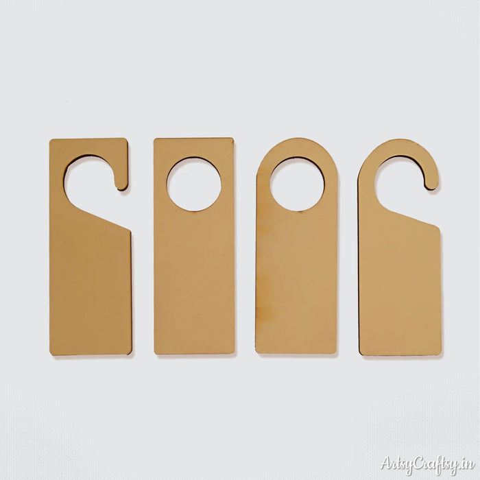 Door Hanger Mdf (Set of 4)