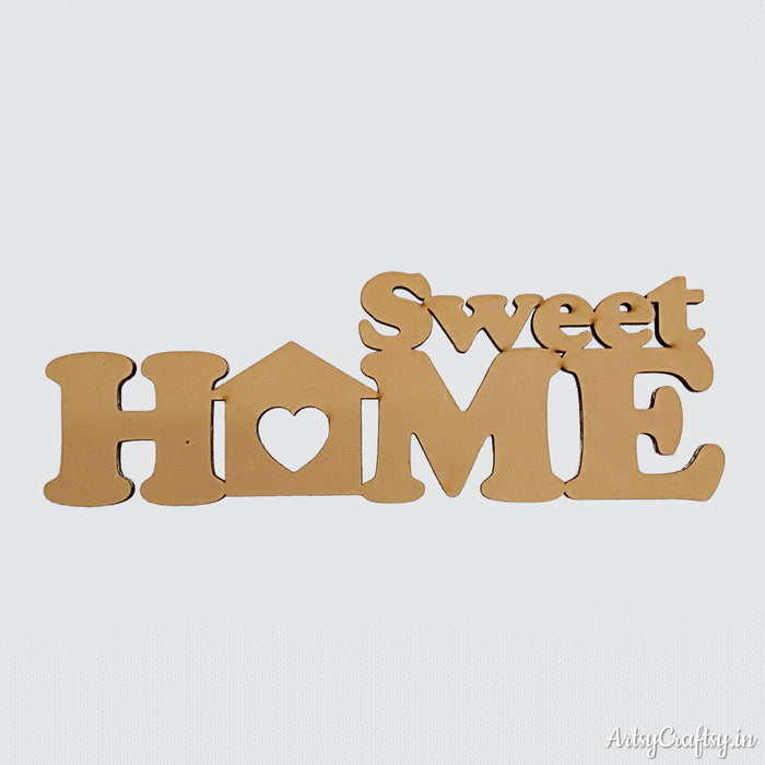 Sweet Home sentiment cutout
