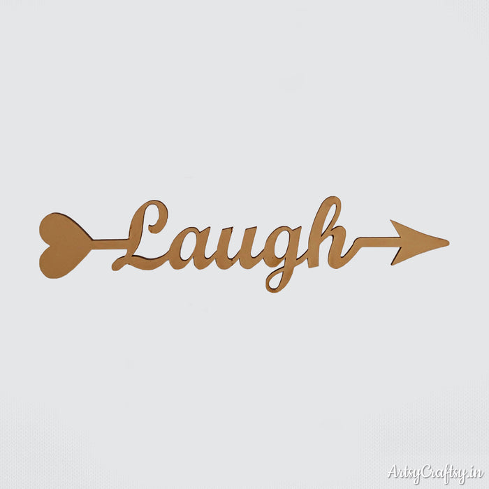 Laugh Arrow Word (Heart)