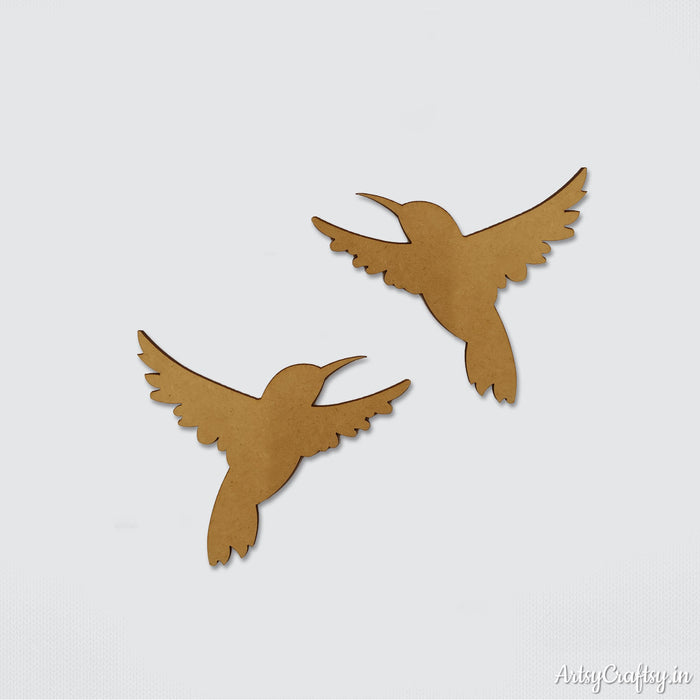 Bird  Embellishment set of 2