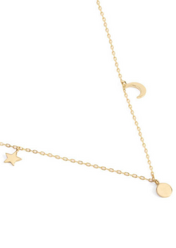By Charlotte 14k Gold Sky Necklace