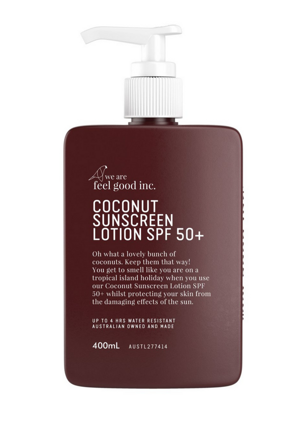 Coconut Sunscreen Lotion 400 ml