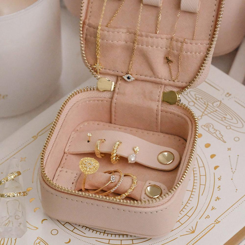 Mini Blush Jewellery Case