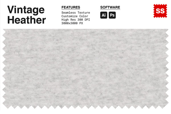 Vintage Heather Fabric Texture