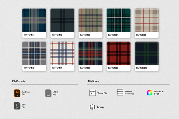 Custom Plaid Bundle
