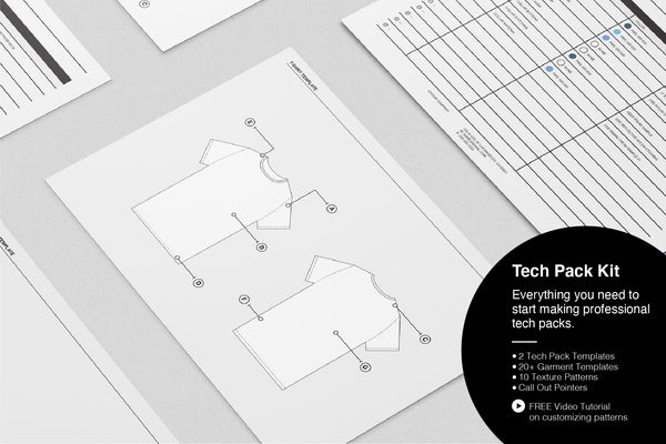 Tech Pack Kit Template