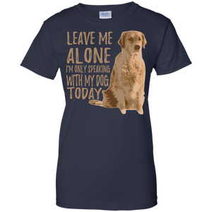 Leave Me Alone Ladies T-Shirt
