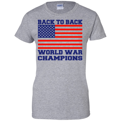 Image of Back 2 Back World War Champs Ladies'
