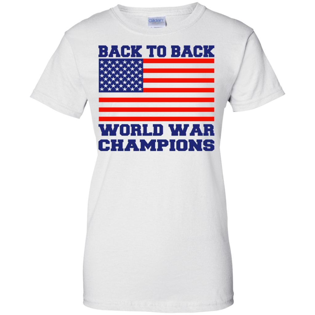 Back 2 Back World War Champs Ladies'