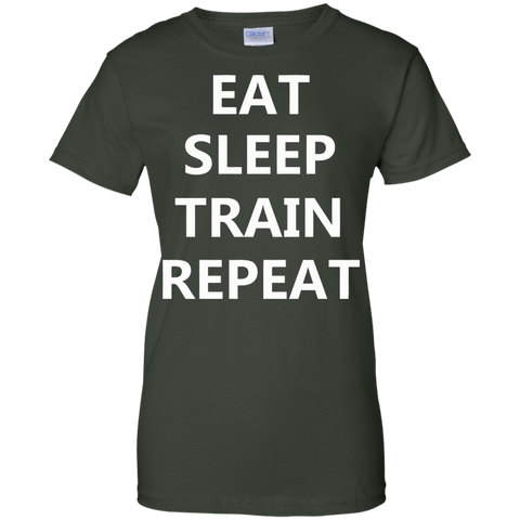 EAT SLEEP TRAIN REPEAT Ladies'