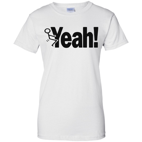 "Image of ""F"" YEAH  Ladies' T-Shirt"