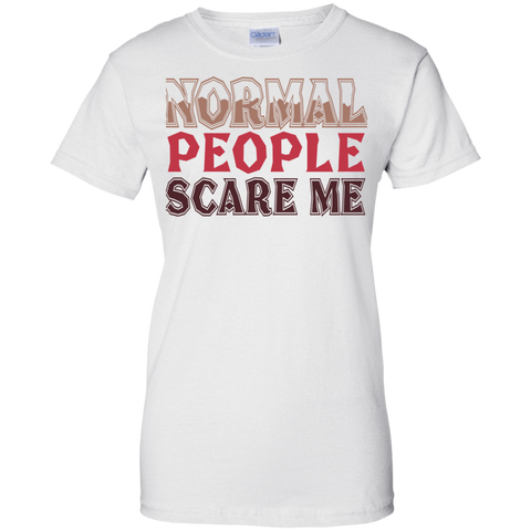 Image of Normal People Scare Me Ladies' T-Shirt