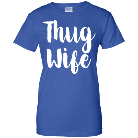 Image of Thug Wife ladies T-Shirt