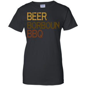 Beer Bourbon BBQ T-Shirt
