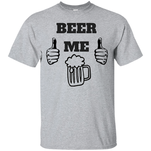 BEER ME Thubs Up T-Shirt