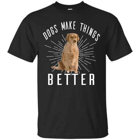 Image of Dogs Make Things Better T-Shirt