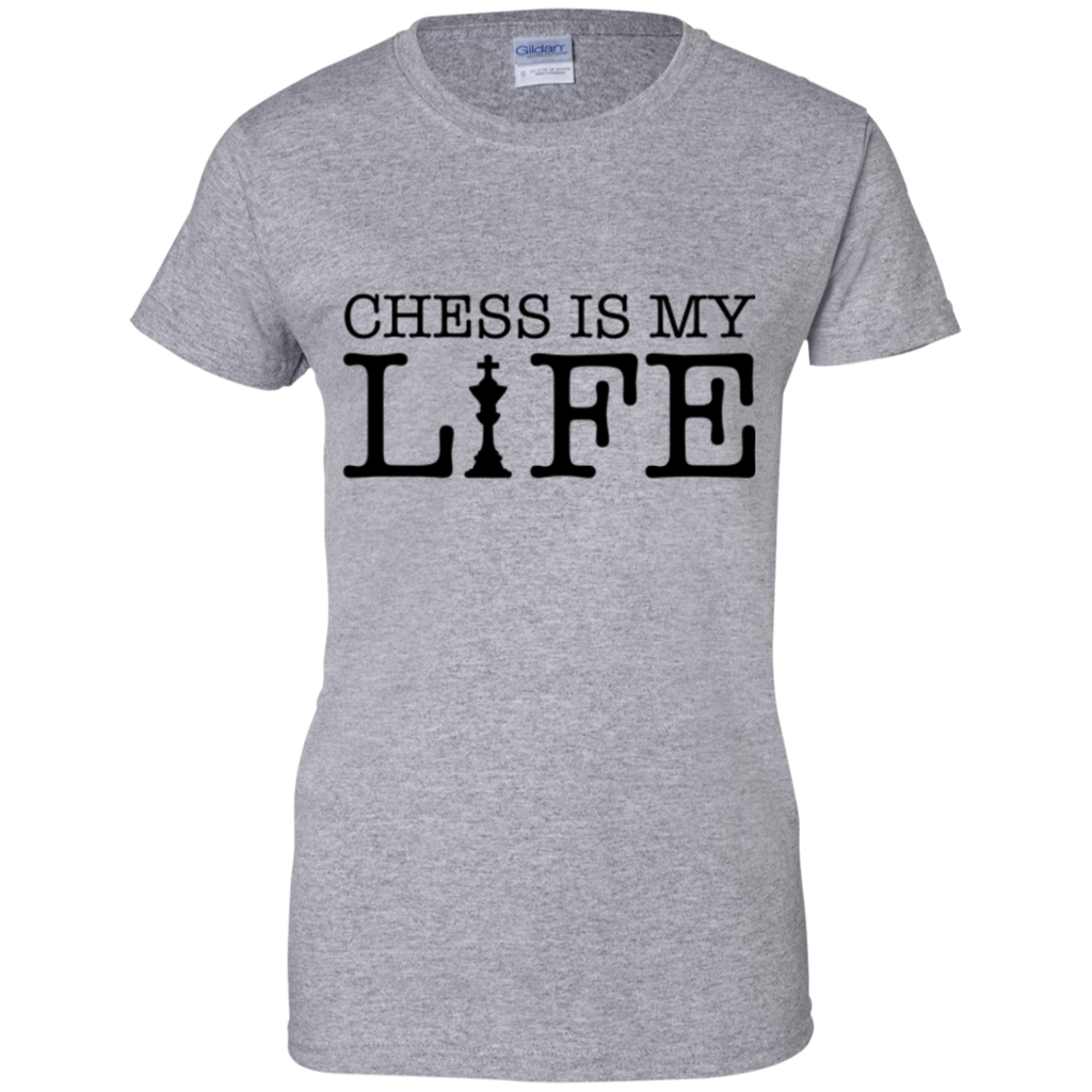 Chess is My Life Ladies' T-Shirt