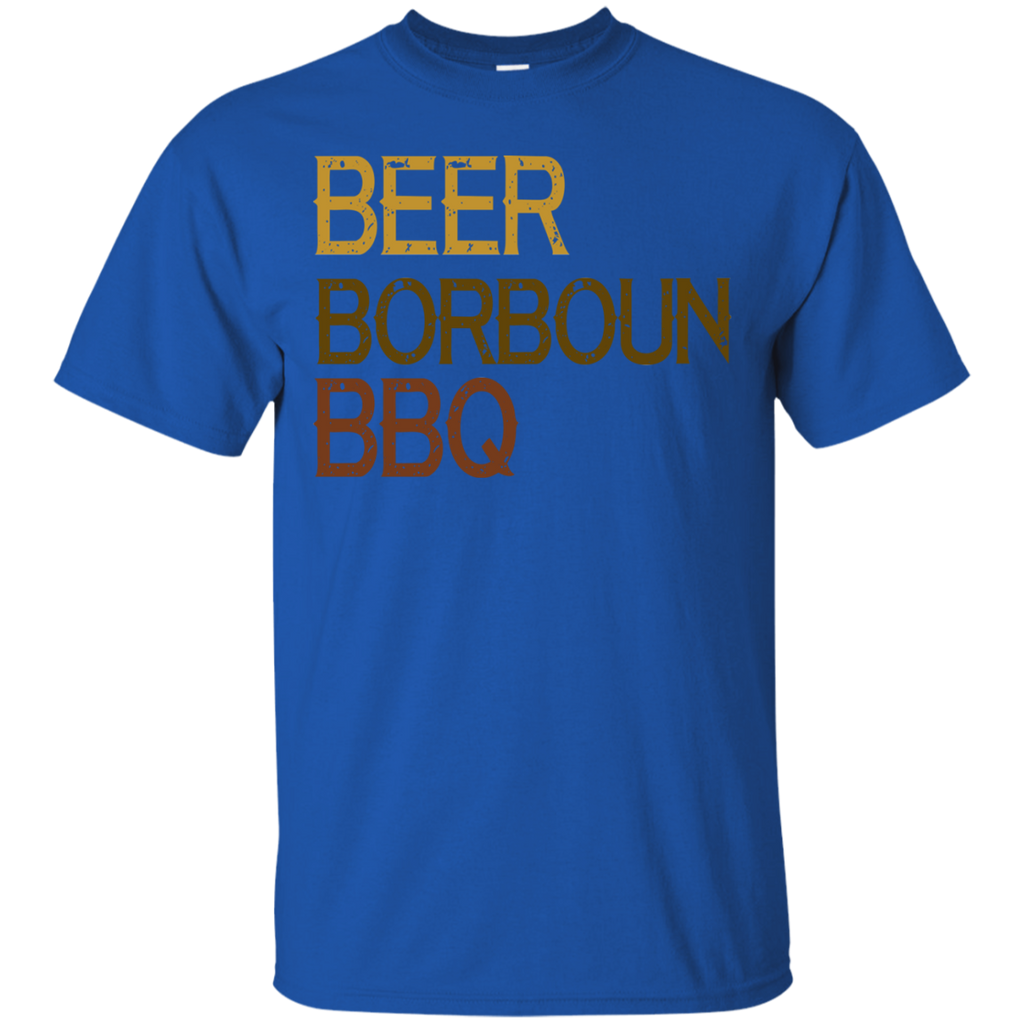 Beer Borboun BBQ T-Shirt
