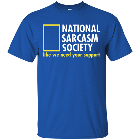 Image of National Sarcasm Society T-Shirt