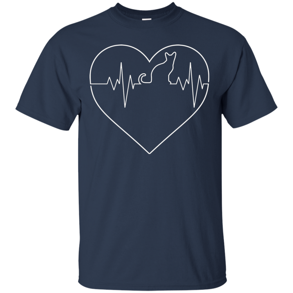 Heart Beats for Cats T-Shirt