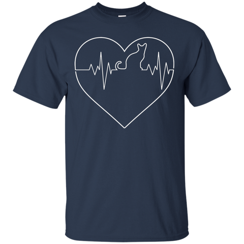 Image of Heart Beats for Cats T-Shirt