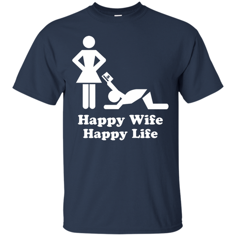 Image of Happy Wife Happy Life T-Shirt
