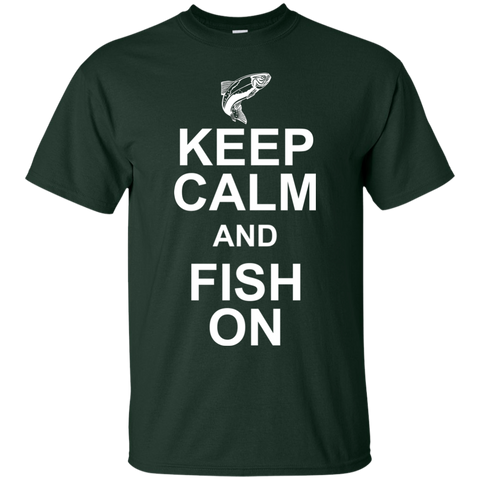 Keep Calm And Fish On T-Shirt