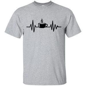 Coffee Heartbeat T-Shirt