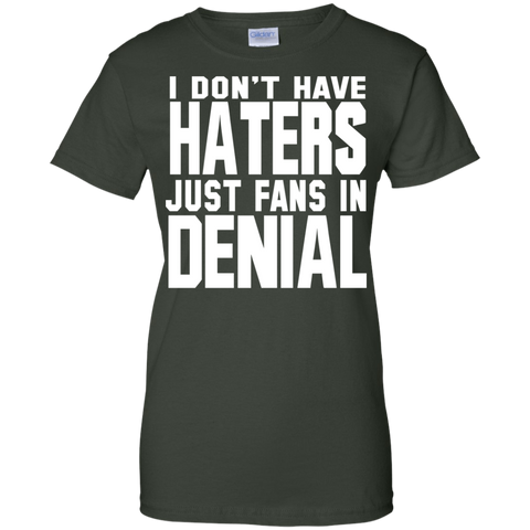 Image of Fans In Denial Ladies' T-Shirt