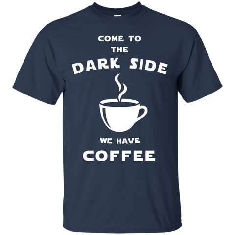 Image of Dark Side Of Coffee T-Shirt