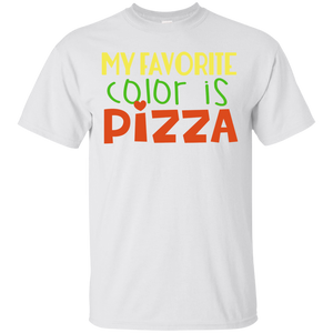 My Favorate Color Is Pizza T-Shirt