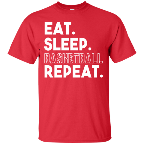 Image of Eat Sleep Basketball Repeat T-Shirt