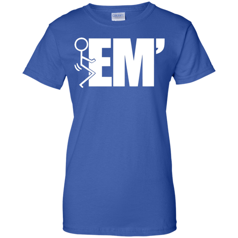 "Image of ""F"" EM' Ladies T-Shirt"