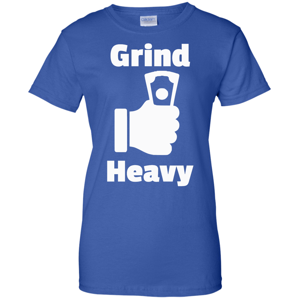 Grind Heavy Ladies' Cotton T-Shirt