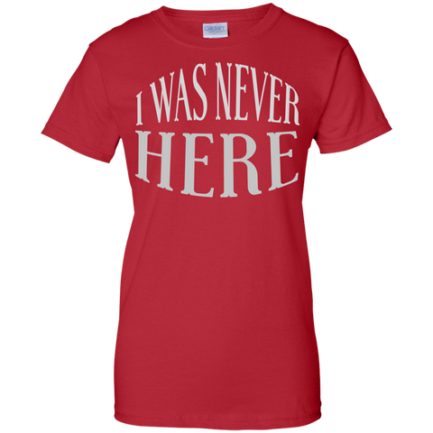Image of I Was Never Here T-Shirt