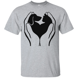 Love Cats And Dogs T-Shirt