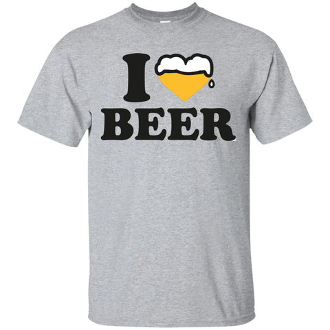 Image of I Love Beer T-Shirt