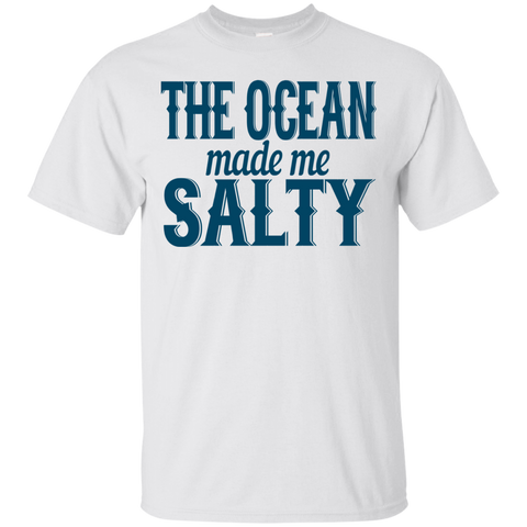 The Ocean Made Me Salty T-Shirt