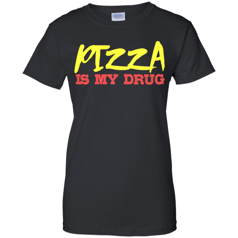 Image of Pizza Is My Drug T-Shirt