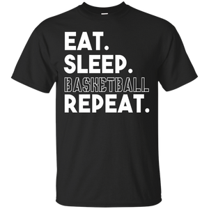 Eat Sleep Basketball Repeat T-Shirt