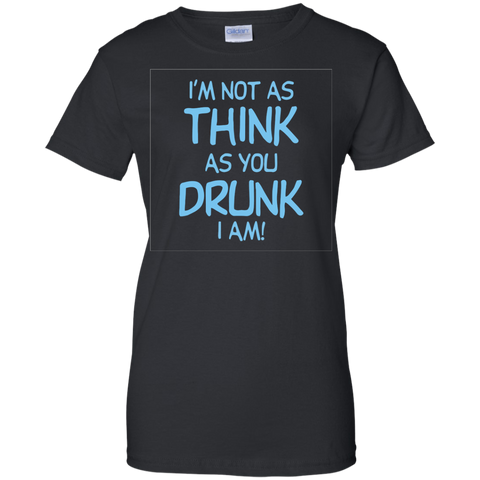 Image of Im Not Drunk Ladies T-Shirt