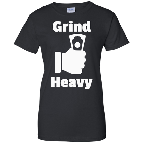 Image of Grind Heavy Ladies' Cotton T-Shirt