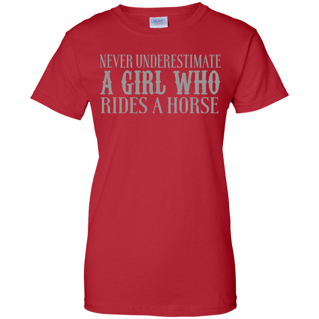 Never Underestimate A Girl T-Shirt